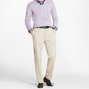 NEW • Brooks Brothers • Hudson Advantage Chino 34